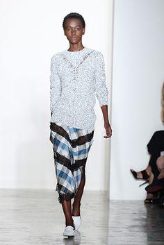 We Run This Town: Black Models Shine at New York Fashion Week Spring 2016 - Essence Wes Gordon, We Run, Black Models, Spring 2016, New York, Running, Beauty, Fashion, Moda
