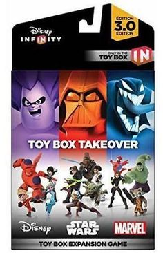 Disney Infinity 3.0 Toy Box Takeover: Get it for $11.88 (was $18.48) #coupons #discounts