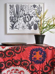 Image of Ten Cacti Screenprint