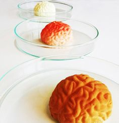 #Food #Design 'Brains' by Maison van den Boer - in flavours: gazpacho, star anise and tarragon