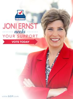 Have you voted for Joni Ernst yet? We've got the how-to right here. Click now & be a voter. @maroobi your next senator :)