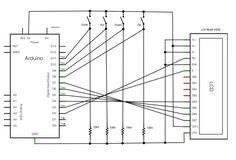 Tutorial: manage menu and LCD display with Arduino – Coagula – Giuseppe Di Cillo Arduino Lcd, Hobby Electronics, Albedo, Menu, Coding, Display, Music, Ideas, Menu Board Design