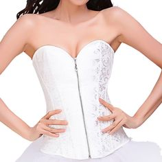Ya Lida Corset bridal lingerie shapewear abdomen care thoracolumbar folder White. Imported. Lace, embroidery,Thin mold cup double hasp shoulder belt. Flirty and figure flattering! With a hint of sex appeal, this bra and panty set is great worn under your clothes, or worn as lingerie!. Hook and eye closure adjustable straps!. our bras, and panties, can be worn as sexy lingerie ,but still comfortable enough for everyday wear!!!.