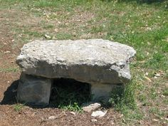stone bench/table