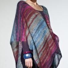 Free Knitting Pattern - Women's Ponchos: Megan Loose Fit Poncho