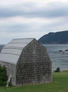 Barn By The Ocean