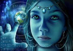 """The Indigo Children Individuals who are here to bring about the New Age of Peace. Indigo children are often psychic and sensitive and have an internal """"lie Les Religions, Spirit Science, Star Children, Adhd Children, Star Kids, Auras, New Age, Pagan, Awakening"""