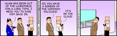 An Analysis Of Long-Term Unemployment, With Some Help From Dilbert…