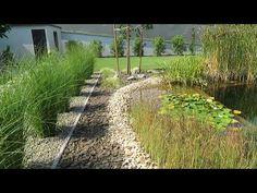 Modern kert, robot fűnyíróval, kertépítés ötletek - YouTube Vineyard, Country Roads, Modern, Outdoor, Youtube, Outdoors, Trendy Tree, Vine Yard, Vineyard Vines