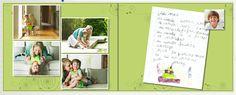 Podemos escanear las cartas y los recaditos que le hicimos a nuestra mamá en ocasiones que consideramos especiales.
