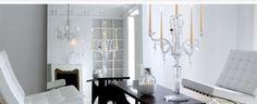 Baccarat Candelabras - Clear Crystal Candelabras - Luxury Lighting