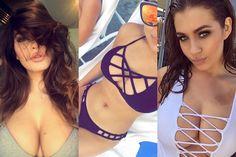 Page 3 pics of the week Holly Peers, Page 3, Gossip, Manchester, Bikinis, Swimwear, Thong Bikini, Glamour, Fitness