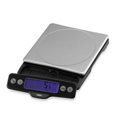 If you have to measure your food, this is the scale to get.  Easy to clean removable stainless top, display pulls out to accommodate big plates, all buttons are covered and waterproof.  It's good.  I've worn out a few scales and this one just lasts and lasts.