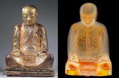 Rabarama: what I like: Mummified Monk Found Inside Ancient Buddha Statue