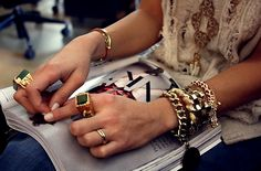 How to Wear Jewelry: Tips for Layering - Lena Penteado