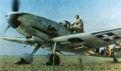 Messerschmitt Bf.109F-4 destinado a la defensa de Hungria