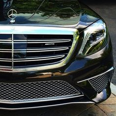 12 cylinders, up close and personal. Mercedes Benz S65 AMG supersedan