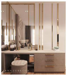 Modern Luxury Bedroom, Master Bedroom Interior, Luxury Bedroom Design, Bedroom Closet Design, Bedroom Furniture Design, Home Room Design, Luxurious Bedrooms, Home Interior Design, Home Decor Furniture