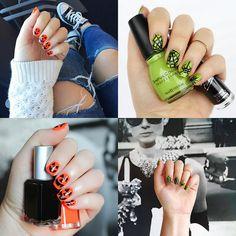 Halloween Manicure Nail Art Ideas