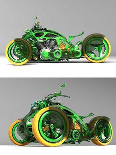 ✤ Mikhail Smolyanov concepts motorcycle