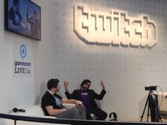 Had tons of fun talking @XSplit on the #gamescom2015 @Twitch stage with the great Mr @JonCarnage