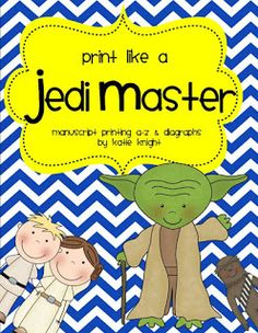 Feel like you need the Force to improve your students' printing? Help is here! They'll be printing like Jedi Masters in no time! from #TeacherToTheCore @katiehappymom #starwars #jedi