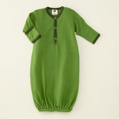 The Land of Nod | 0-3 mos. Green Sleep Sack in Apparel