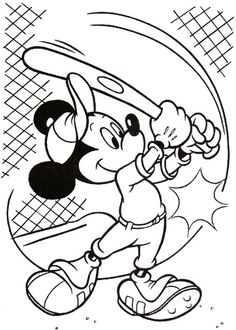 Disney Målarbilder för barn. Teckningar online till skriv ut. Nº 158