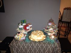 Candy bar  Under the sea baby shower