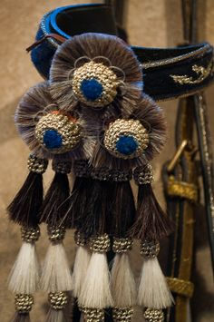 Decorative bridle, Royal Andalucían School of Equestrian Art