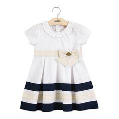 Vestido Bebê e Infantil em Tricoline Milon Premium