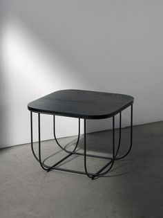 Additional view of Cage Table - Wood