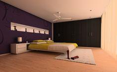 Presentación fotorrealística de solución decorativa para dormitorio. (Photorealistic presentation of decorative solution for bedroom). #Bedroom #SergioCasado #Render