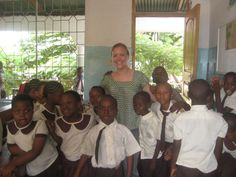 """""""I enjoyed being with my students the most. They were the main reason I was in Tanzania and they made my experience unforgettable. I loved seeing them smile and enjoying learning. It was wonderful to see them understand a topic I was teaching and be excited about learning."""" - Sarah Lucid, 24, Tanzania (10 Weeks, Teaching)"""
