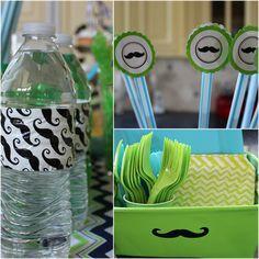 #mustache #party #ideas