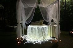 Allestimento tavolo torta, matrimonio in villa.  Wedding cake table