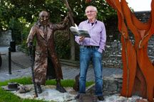 Terry McDonagh,Well-knownIrish Poet, Writer and Playwrightspeaks to Mark Ulyseas.    I write because it is part of what I am. As a child, I grew up with storytelling and the poetry of the blind poet of Cill Aodain, Anthony Raftery. I was born in Cill Aodain, which is nothing more than a few fields, with a small town, Kiltimagh nearby…but this is where the dream of walking the roads with a handful of fresh poems, grew out of.