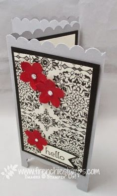 Stamp & Scrap with Frenchie: Panel - Devider Card