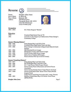 nice captivating thing for perfect and acceptable basketball coach resume check more at http