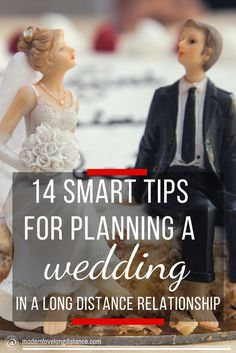 14 Smart Tips for Planning a Wedding in a Long Distance Relationship http://www.modernlovelongdistance.com/planning-a-wedding-in-a-long-distance-relationship/
