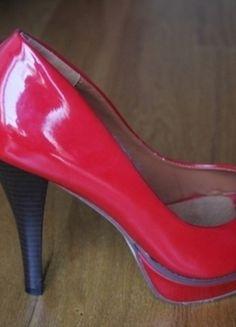 Kup mój przedmiot na #vintedpl http://www.vinted.pl/damskie-obuwie/na-wysokim-obcasie/10215744-nowe-czerwone-szpilki-marki-always