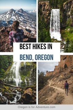 This town in Central Oregon is surrounded by natural beauty and the best way to experience it is to hit the trails. There's no doubt that the hikes in Bend are some of the best in Oregon. And the best part is that there are so many that are right by town, making them easy to access too. Check out our list of the best hikes in Bend, Oregon to get you started. | Oregon is for Adventure #oregon #bendhikes #bend Oregon Vacation, Oregon Road Trip, Oregon Travel, Travel Usa, Oregon Hiking, Places To Travel, Places To Visit, Sisters Oregon, Visit Oregon