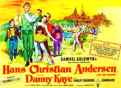Hans Christian Anderson British Quad film poster, musical starring Danny Kaye, Samuel Goldwyn, rolled, 30 x on Sep 2016 Farley Granger, Samuel Goldwyn, Classic Movie Posters, Quad, Film, Hans Christian, United Kingdom, British, Presents
