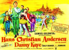 Hans Christian Anderson British Quad film poster, musical starring Danny Kaye, Samuel Goldwyn, rolled, 30 x on Sep 2016 Samuel Goldwyn, Quad, Musicals, British, Hans Christian, Film, United Kingdom, Presents, Number