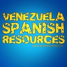 Resources About Venezuelan Spanish Slang #Venezuela #LearnSpanish #SpanishSlang