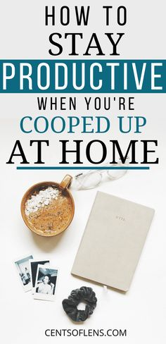 Do you struggle with staying productive when you're stuck at home? Do you want to know how you can maintain high levels of productivity while at home? Find out how you can stay productive when you're cooped up at home today! Productivity Quotes, Increase Productivity, I Feel Overwhelmed, Productive Things To Do, Time Management Tips, Personal Goals, Healthy Habits, Personal Development, Motivation