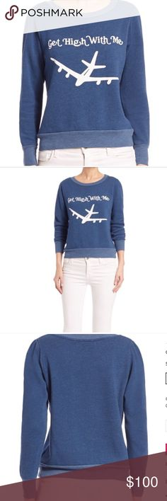 SOLD OUT EVERYWHERE! wildfox jumper ✈️ Size xs retail $114 wildfox get high with me sold out everywhere super hard to find and I only have one left!!! Wildfox Sweaters