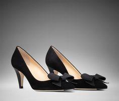 Clio – Black Suede Leather Heels | Scarosso