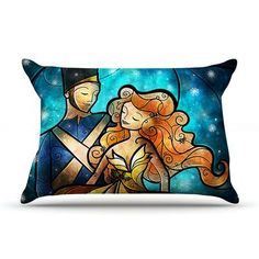 KESS InHouse Nutcracker by Mandie Manzano Featherweight Pillow Sham Size: King, Fabric: Woven Polyester