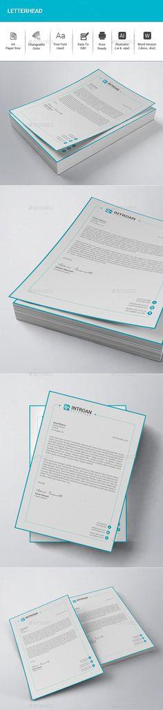 Letterhead Templates Company letterhead template, Company - company letterhead templates